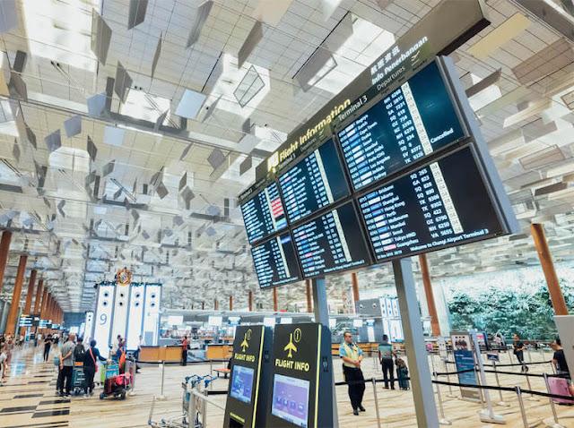 Kinh nghiệm đi singapore lần đầu: khám phá sân bay Changi