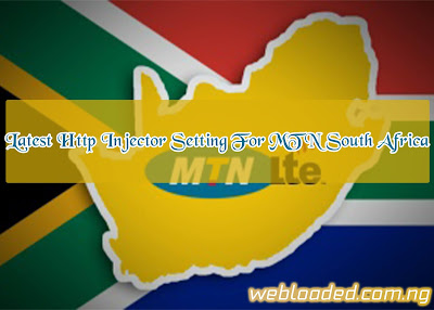 Latest Http Injector Settings For Mtn South Africa
