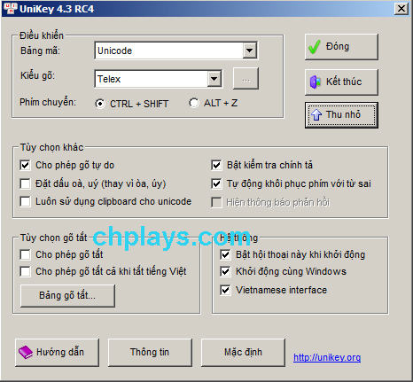 Tải Unikey - Gõ tiếng Việt mới nhất cho PC Win 7/10 miễn phí 8