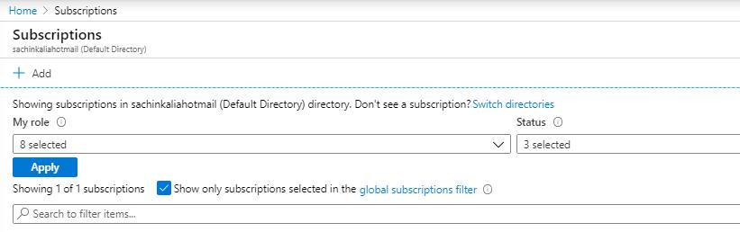 Resource provider registration using Azure Portal ~ DotnetPiper