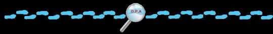 Barra separador de texto - Post - Decoração de festa de aniversário DPA