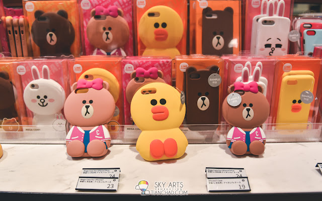 LINE Friends Phone Case at Shinsegae Duty Free Shop
