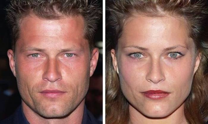 "Til Schweiger, if he were a woman, in the film ""Barefoot on the Pavement"" would have played the crazy woman, not her savior."