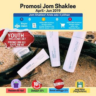 promosi shaklee; jom shaklee promosi; youth skin care promosi; shaklee labuan; shaklee sabah; shaklee tawau; shaklee kudat; shaklee beaufort; shaklee bongawan