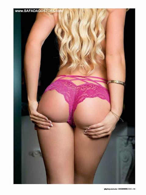 Fotos de Elsa Day nua pelada na Playboy mexicana