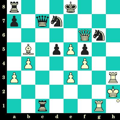 Les Blancs jouent et matent en 2 coups - Terje Wibe vs Georgios Trikaliotis, Siegen, 1970
