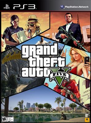 Resultado de imagem para GTA Grand Theft Auto V ps3