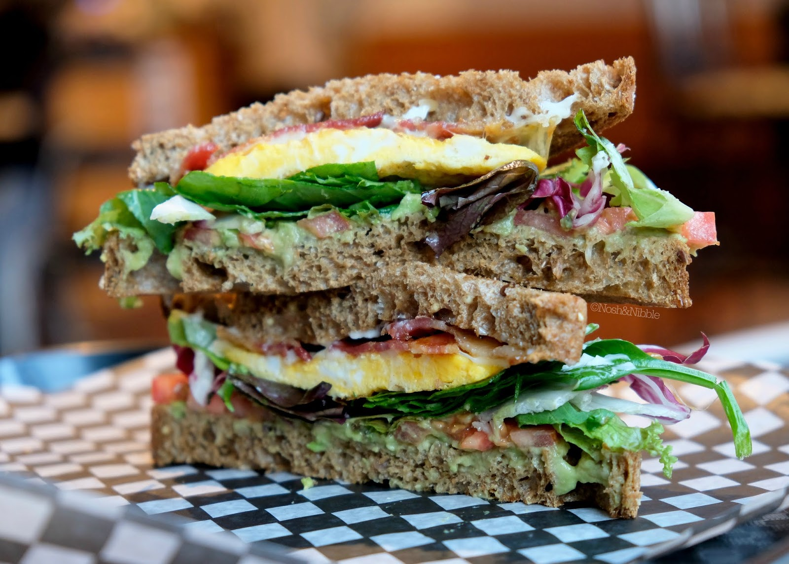Rise & Grind Breakfast Cafe in Victoria, BC | B.L.A.S.T. Sandwich: Review
