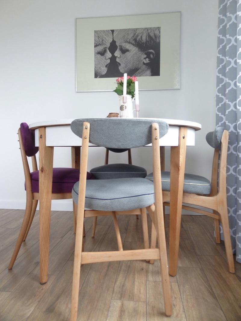 krzesło, hałas, PRL, DIY, krzesło tapicerowane