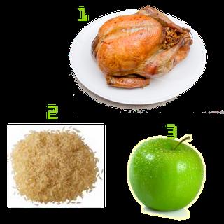 Dieta solo arroz y pollo