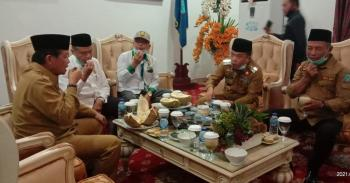 Bupati Al – Haris Sambut Kunjungan Gubernur Jambi di Merangin