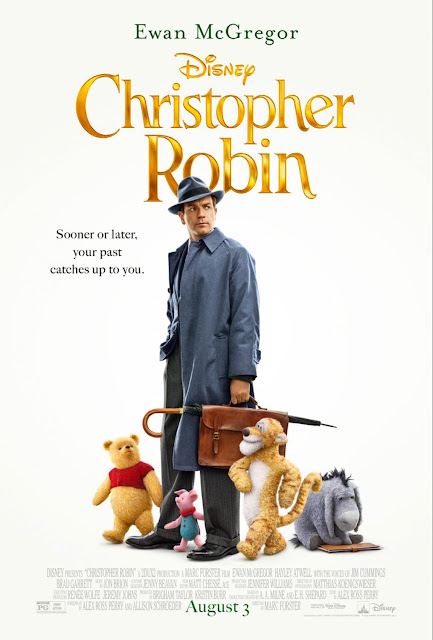 Check out the adorable new poster and trailer from Disney's Christopher Robin, in theaters this summer! 8/3/18! #ChristopherRobin