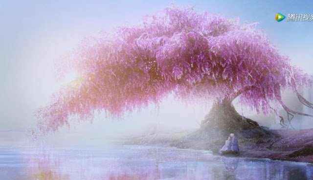 three lives three worlds the pillow book peach blossoms