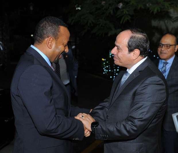 """""""بشرى سارة"""" بشأن سد النهضة..بعد لقاء حاسم بين السيسي ورئيس حكومة أثيوبيا"""