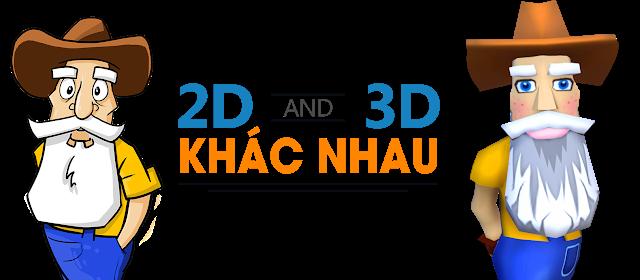 hình ảnh ví dụ 3D và 2D