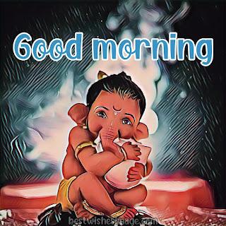 good morning ganesha pic