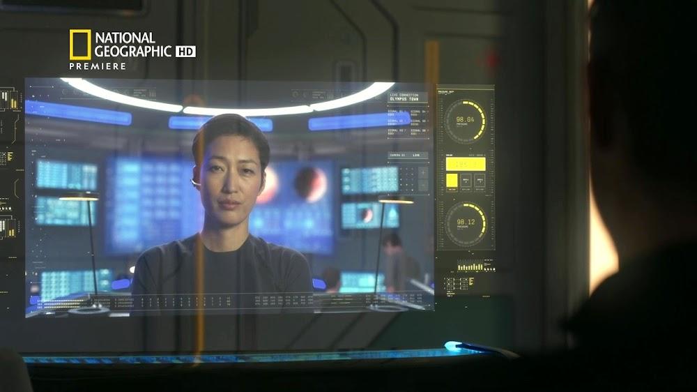 National Geographic MARS - episode 5, season 2 (scientist commander)