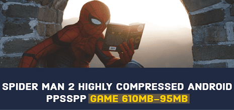 The Amazing Spider man 2 Game Highly Compressed 10mb Android
