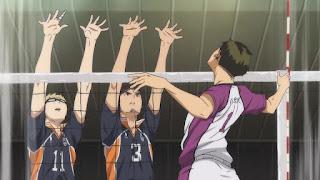 ハイキュー!! アニメ 3期5話 月島蛍 | Karasuno vs Shiratorizawa | HAIKYU!! Season3