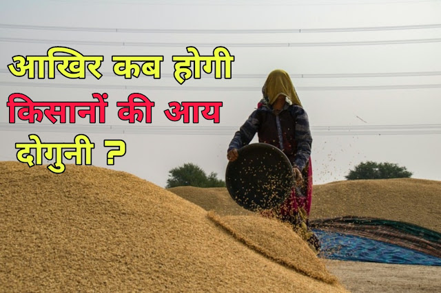 When Will The Income of Farmers Double