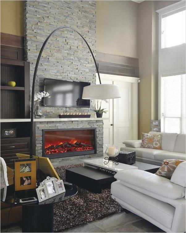 Corner Electric Fireplace Tv Stand Home Interior Exterior Decor Design Ideas