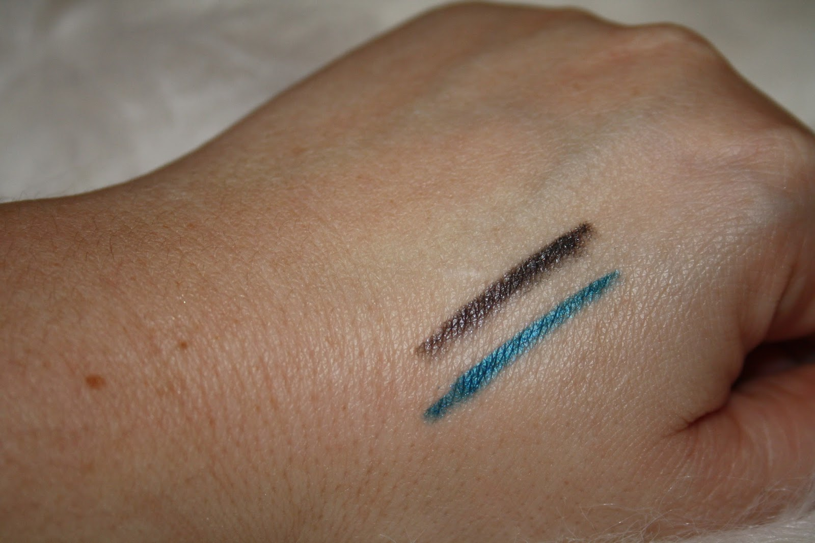 KIKO Crystal Eyeliner Swatches