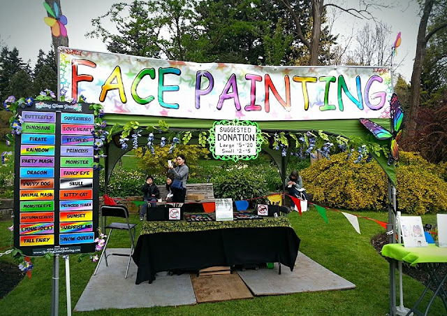 Life Art And Face Paint Attention Grabbing Face