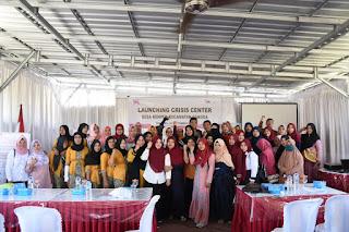 Tingkatkan Kapasitas CPM KLU, PPK NTB Launching Crisis Center