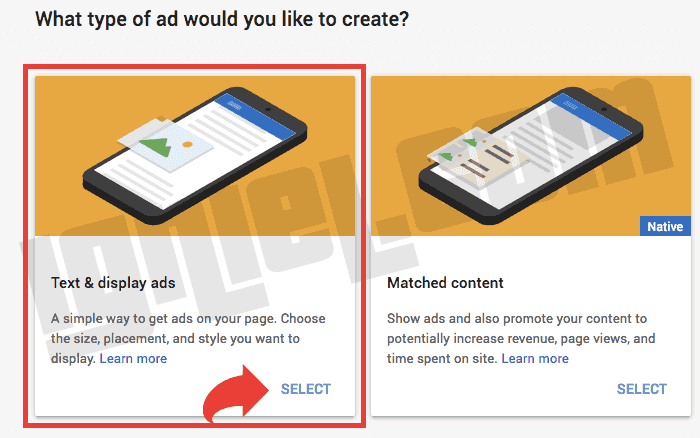 Membuat Unit Iklan Adsense Pertama dan Mendapatkan Kodenya
