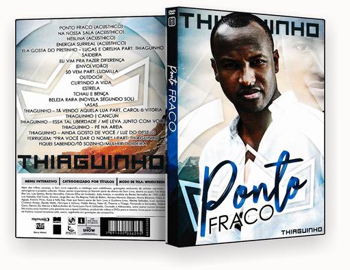 CAPA DVD – Thiaguinho Ponto Fraco – ISO