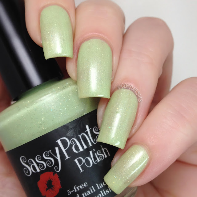 Sassy Pants Polish-Mint Frosting