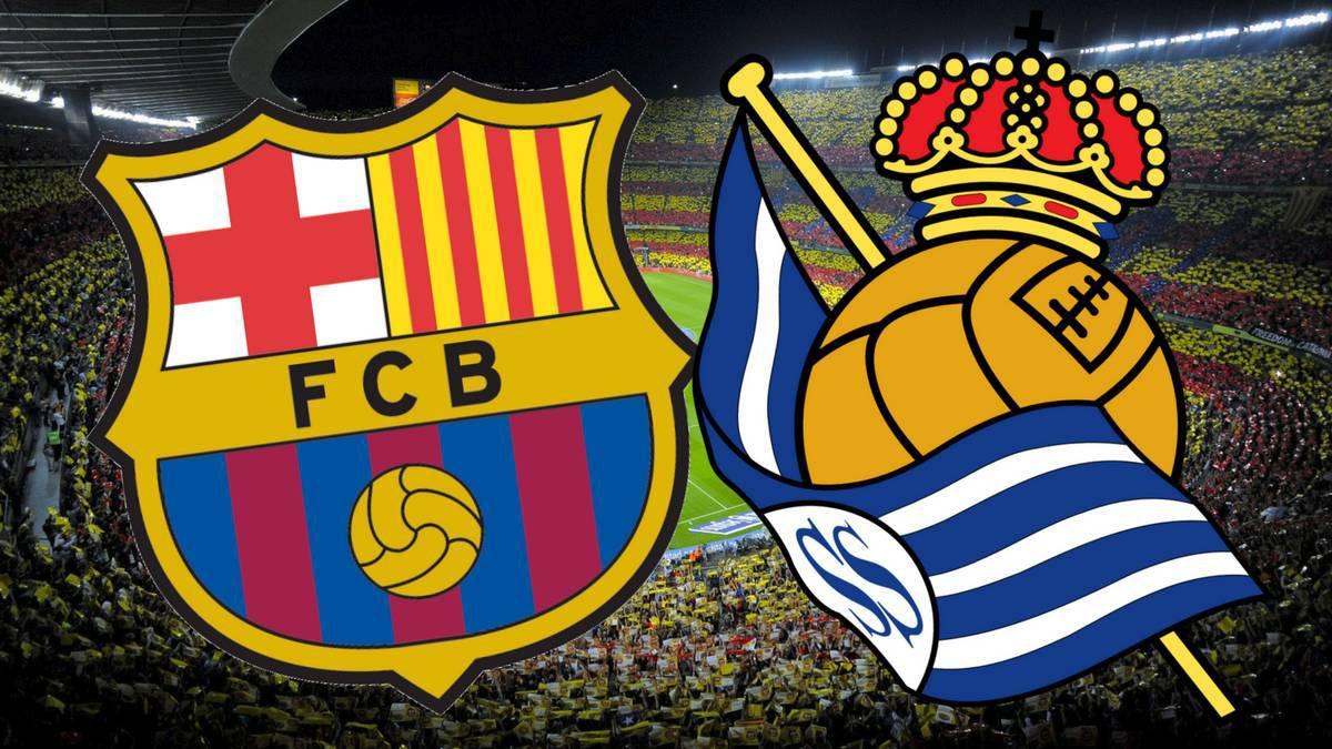 ملخص واهداف مباراة برشلونة وريال سوسيداد اليوم
