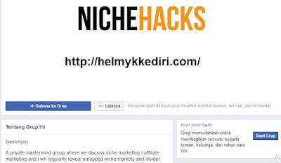 Grup Mastermind Pribadi NicheHacks.com
