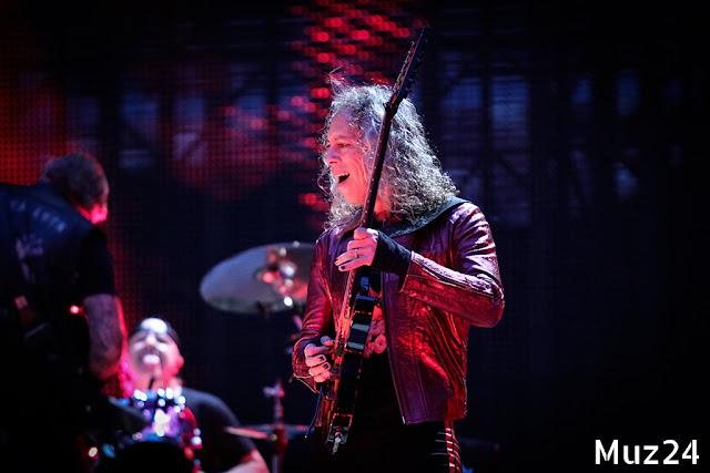 Фото и видео с выступления Metallica в Лужниках