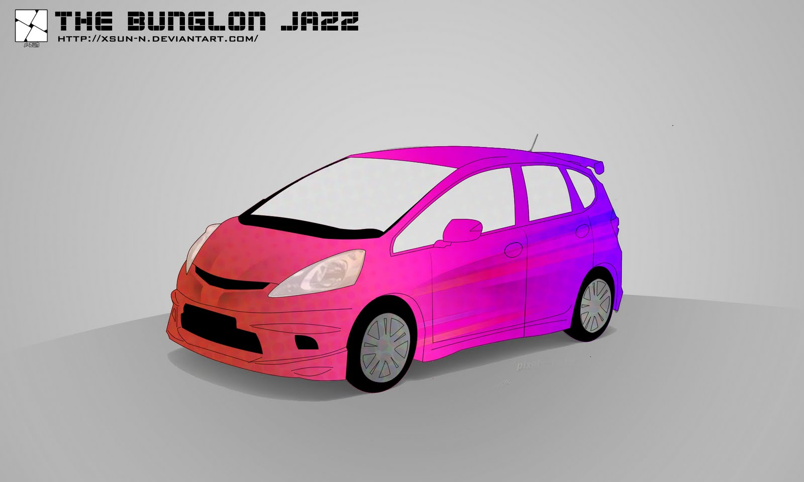 105+ Gambar Kartun Mobil Jazz Terbaru