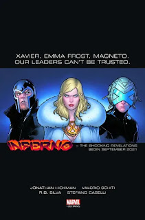Marvel lanza teasers de X-Men Inferno de Jonathan Hickman.