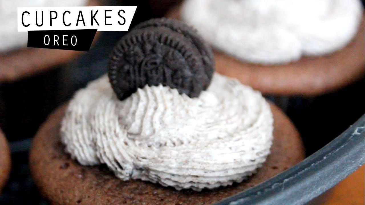 Cupcakes Oreo recettes