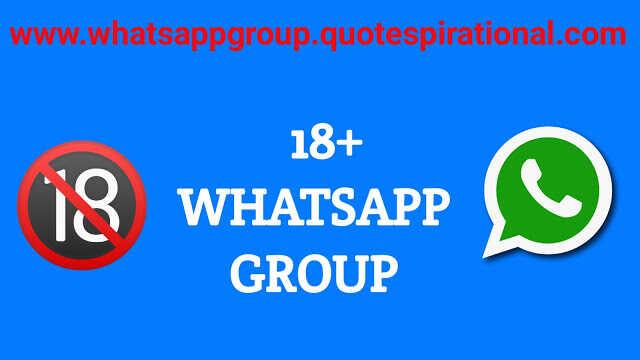 18+ Whatsapp Group Links