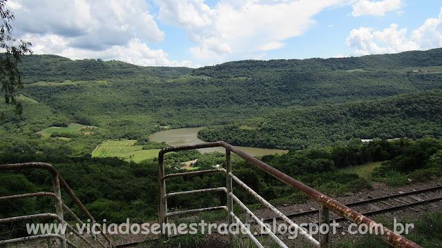 Vista panorâmica do Rio das Antas