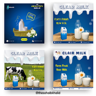 Design Milk brand Instagram post in Canva
