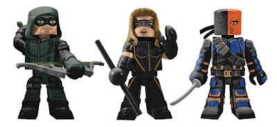 Arrow TV Series Vinimates Vinyl Figures by Diamond Select Toys x DC Comics x The CW - Green Arrow, Black Canary & Deathstroke