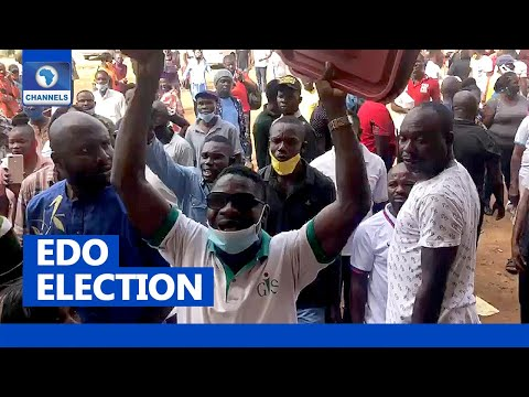 Edo Election: Serious Tension As Fight Breaks Out At Polling Unit