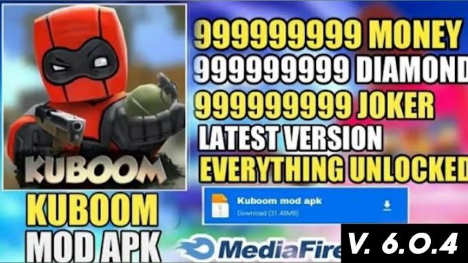 Update Kuboom New Apk V6.0.4| Unlimited Coins Money All Guns Unlock | V6.04 Kuboom trick Apk 2021 💯