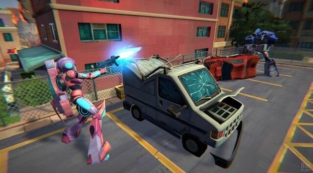 Transformers Battlegrounds Gameplay Image
