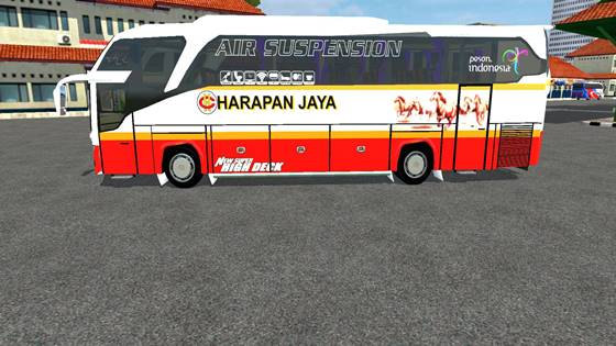 download mod bus rexus full anim terbaru