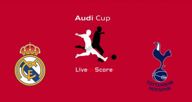لايف مباراة ريال مدريد وتوتنهام بث مباشر اليوم الثلاثاء 30-07-2019 كأس أودي