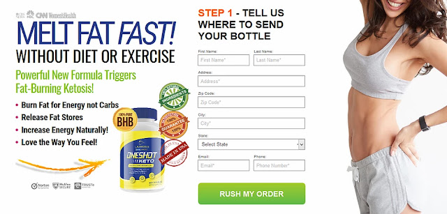 where to order one shot keto in canada