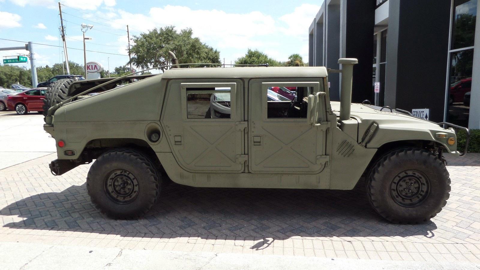 Humvee Slant Back For Sale