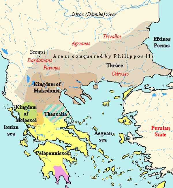 History: Macedonia was never a part of the ancient Hellenic city-states