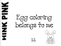 It's About Time, Teachers!: Easter Hink Pinks Freebie